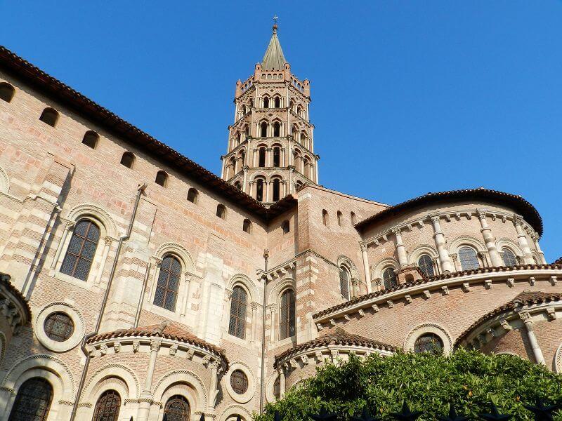 Une église à Toulouse.