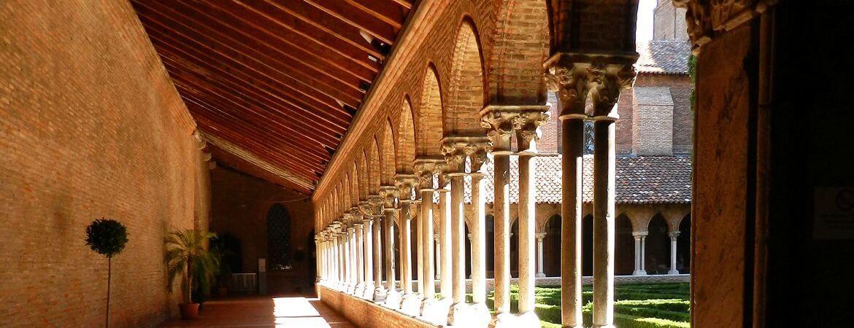 Cloître à Toulouse.