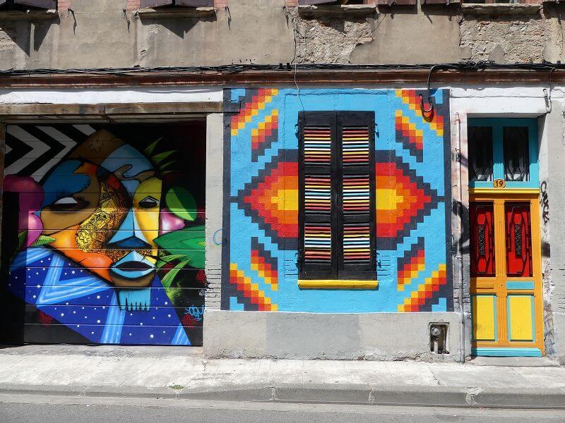 Street Art à Toulouse.