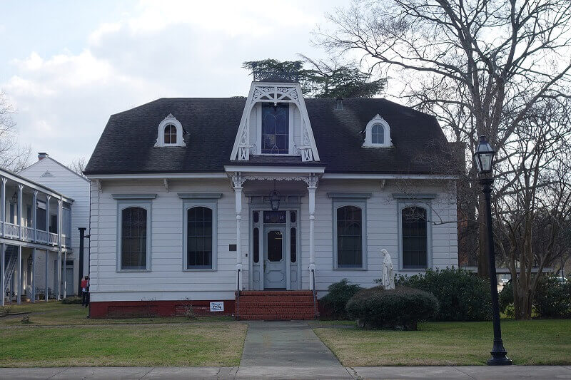Vieille maison en Louisiane.