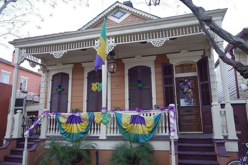 Maison à la Nouvelle-Orléans.