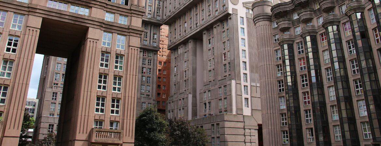 Immeubles près de Paris.
