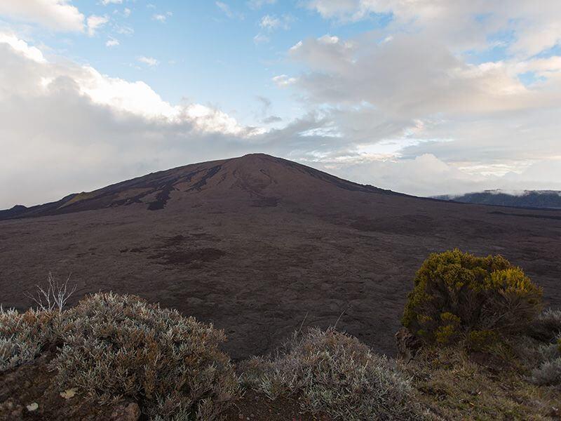 Un volcan à La Réunion.