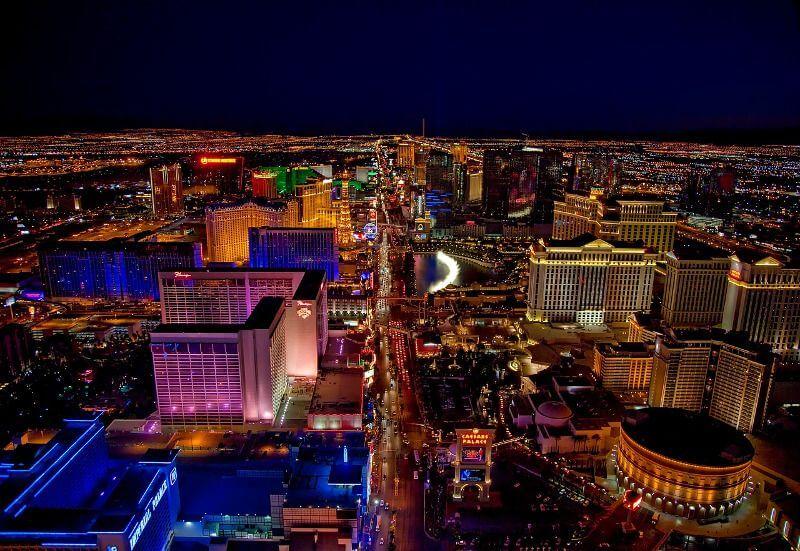 Las Vegas la nuit.