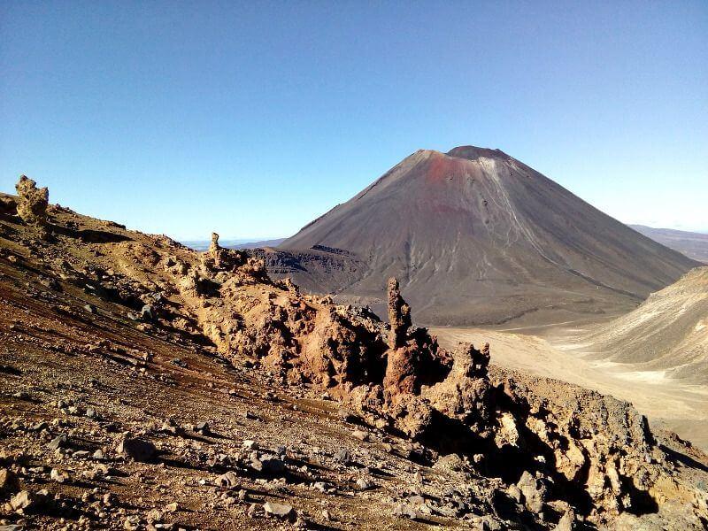 Un volcan en Nouvelle-Zélande.