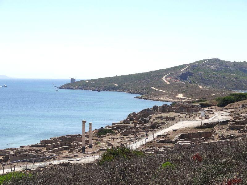 Site archéologique en Sardaigne.