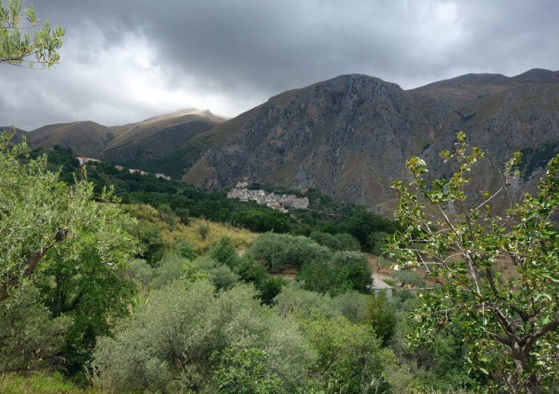 Montagne en Sicile.