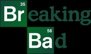 "Logo de la série TV ""Breaking Bad""."