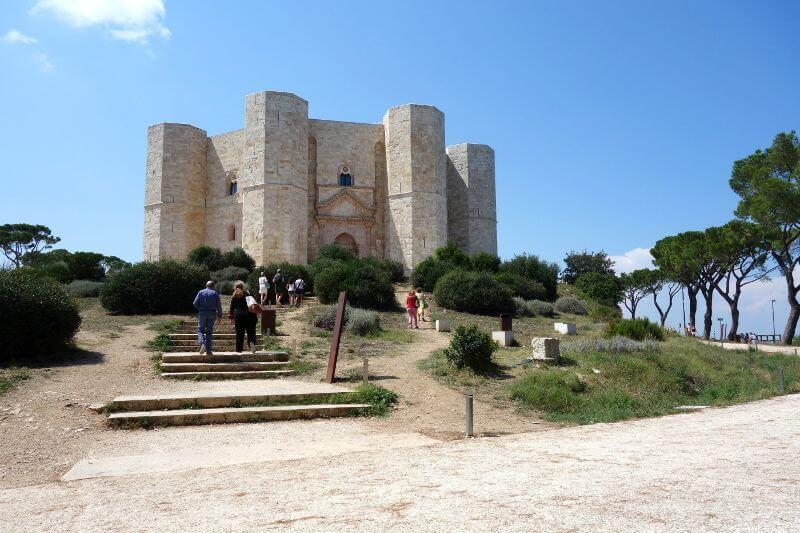 Château médiéval en Italie.