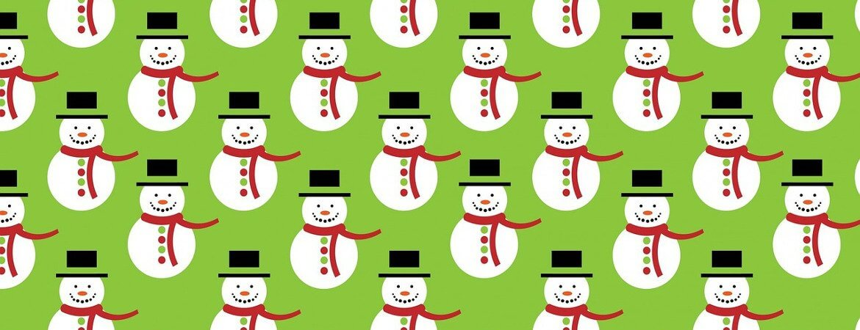 Bonhommes de neige.