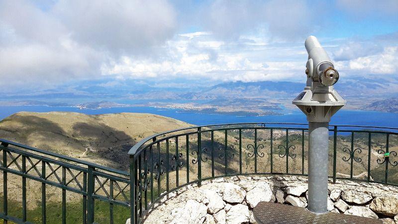 Panorama à Corfou.