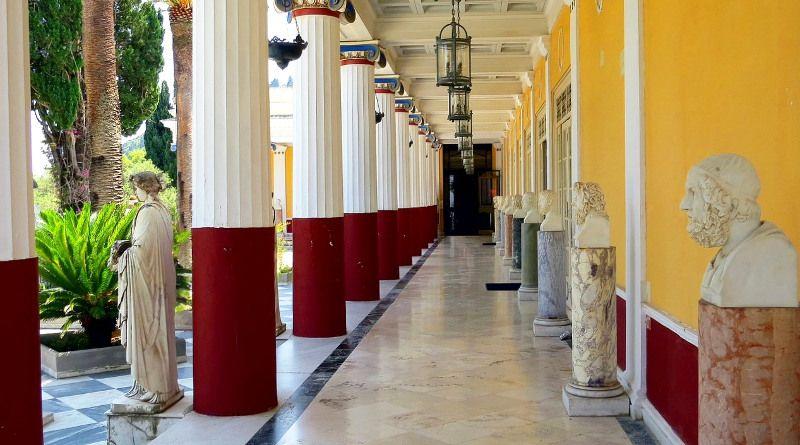 Un palais à Corfou.