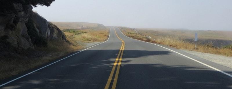 Une route aux USA.