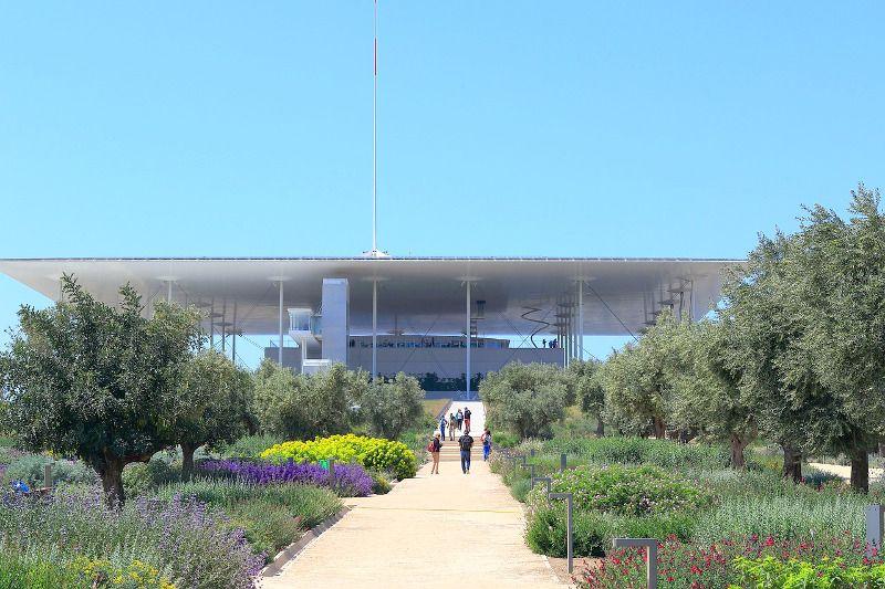 Un centre culturel contemporain à Athènes.