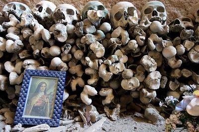 Squelettes à Naples.