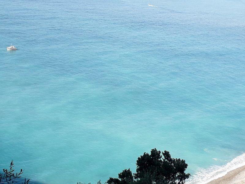 Vue de la mer à Nice.
