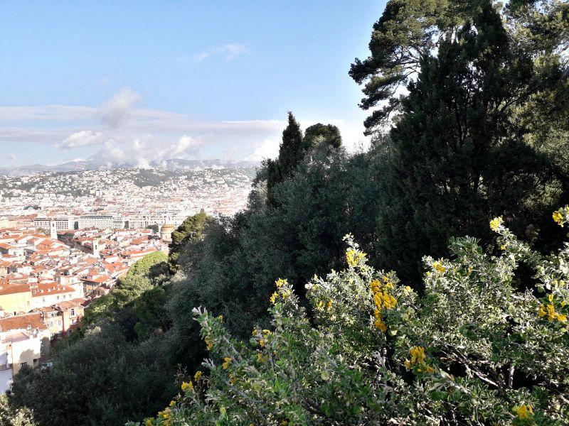 Vue panoramique de Nice.