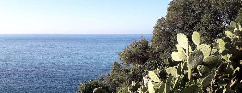 Vue sur la mer à Nice.
