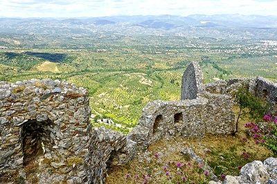 Panorama sur le Péloponnèse depuis Mistra.