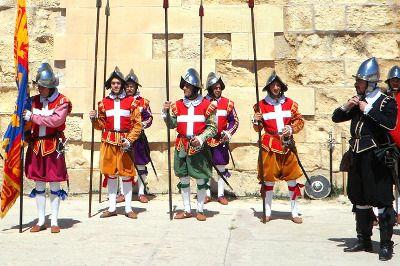 Soldats de l'Ordre de Malte.
