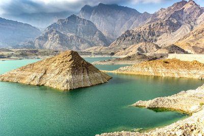 Lac aux Émirats arabes unis.