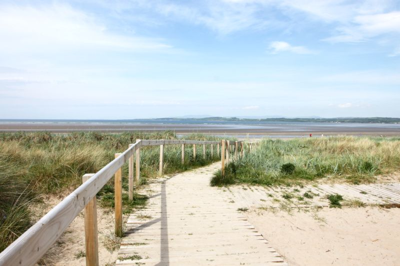 Plage et dune de sable en Irlande