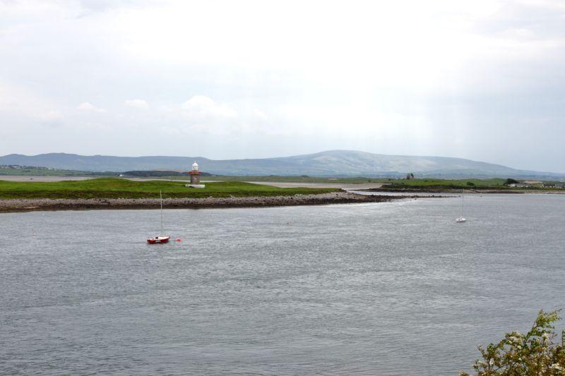 Embouchure d'un fleuve en Irlande.