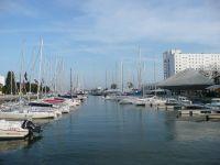 Bateau dans le port de plaisance de Lorient