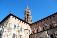 Façade de la basilique Saint-Sernin