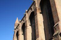 Façade de l'église des Jacobins