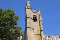 Façade de la cathédrale Saint-Just-et Saint-Pasteur
