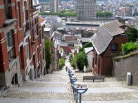 Escaliers dans Liège