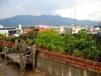 Vue sur San José d'une terrasse