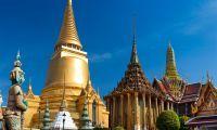 Toits du Palais Royal de Bangkok
