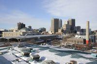 Vue sur la ville de Winnipeg