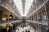 Intérieur du Musée de l'Écosse