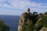 Torre del Verger au sommet de la falaise