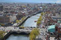 Vue aérienne de Dublin