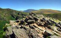 Rochers dans le Parc Naturel d'Alvão