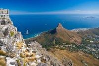 Vue aérienne sur Robben Island