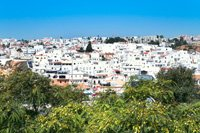 Vue sur la ville de Faro