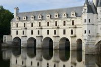 Vue de c^té du Château de Chambord