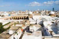 Vue aérienne de la mosquée Ez-Zitouna