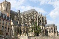 Façade de la Cathédrale Saint-Julien, Le Mans