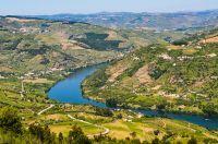 Vue aérienne sur la Vallée du Douro