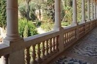 Balcon donnant sur les Jardins d'Alfabia