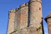 Tours et remparts de la citadelle de Bastia