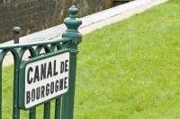 Grille donnant l'accès au Canal de Bourgogne