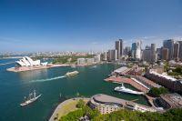 Vue aérienne de Sydney