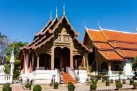 Bâtiment du temple du Bouddha Lion, Wat Phra Singh